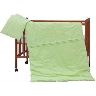 Dětské povlečení 2dílné - Scarlett Hrošík - zelená 100 x 135 cm