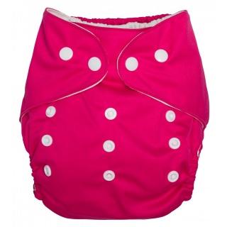Kalhotky plenkové tm. růžová UNI