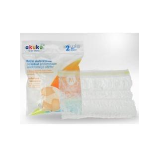 Poporodní kalhotky Akuku pro opakované použití vel.XL Bílá XL