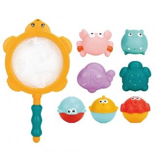 Hračky do koupele 8ks Bayo Multicolor