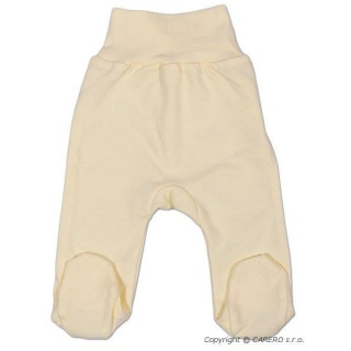 Kojenecké polodupačky New Baby béžové Béžová 80 (9-12m)