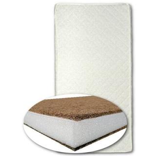 Dětská matrace New Baby 120x60 kokos-molitan-kokos bílá Bílá