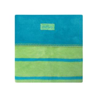 Dětská bavlněná deka Womar 75x100 modro-zelená Tyrkysová