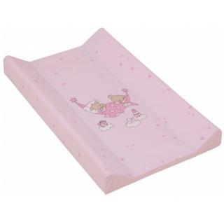 Přebalovací podložka s pevnou vložkou 70 x 50 cm - růžová