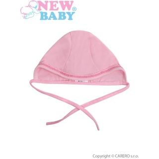 Kojenecká čepička New Baby růžová Růžová 62 (3-6m)