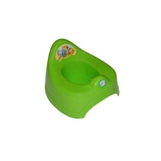 Dětský nočník Safari zelený Zelená