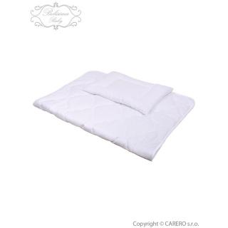 Luxusní výplně Belisima polštář a peřinka 90/120 bílá Bílá
