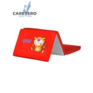 Skládací matrace do postýlky CARETERO Tiger červená Červená