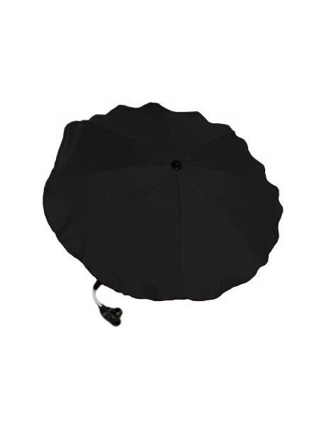 Slunečník na kočárek - černý Černá
