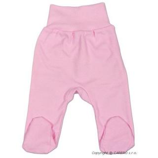 Kojenecké polodupačky New Baby růžové Růžová 80 (9-12m)