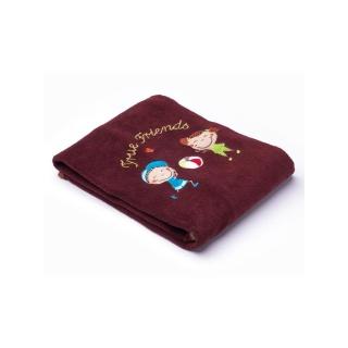 Dětská deka Sensillo Děti 75x100 cm brown Hnědá