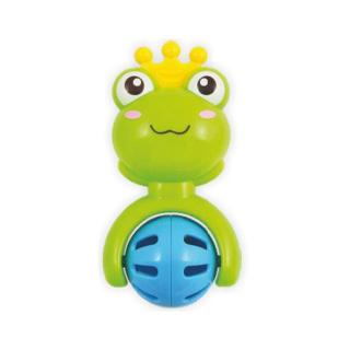 Dětské chrastítko Baby Mix žabička Zelená