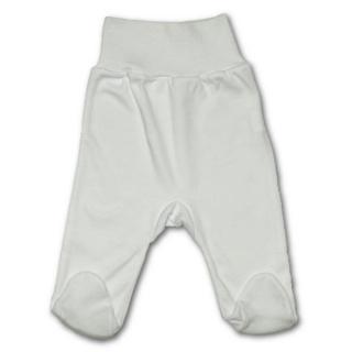 Kojenecké polodupačky New Baby bílé Bílá 80 (9-12m)