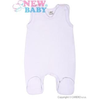 Dupačky bílé New Baby Classic Bílá 62 (3-6m)