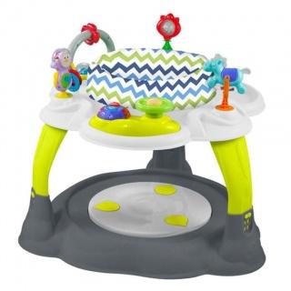 Multifunkční dětský stoleček Baby Mix zeleno-šedý Dle obrázku