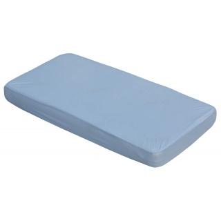 Nepropustné prostěradlo TENCEL - modrá 60 x 120 cm