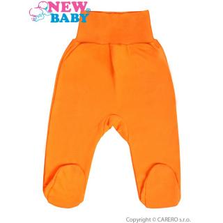Kojenecké polodupačky New Baby oranžové Oranžová 86 (12-18m)