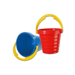 Plastový kyblíček - modrý Modrá