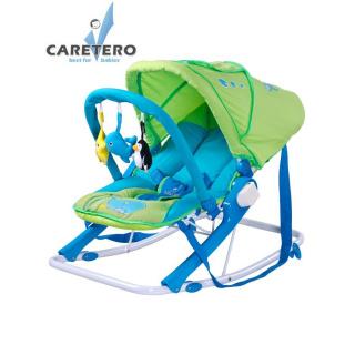 Dětské lehátko CARETERO Aqua green Zelená