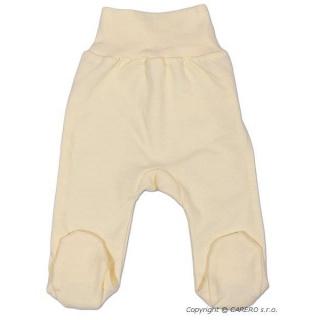 Kojenecké polodupačky New Baby béžové Béžová 74 (6-9m)