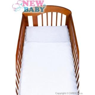 2-dílné ložní povlečení New Baby 90/120 cm bílé Bílá