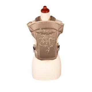 Nosítko Womar Zaffiro Butterfly bežové s výšivkou Béžová