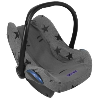 Potah na autosedačku Seat Cover 0+ Grey Stars