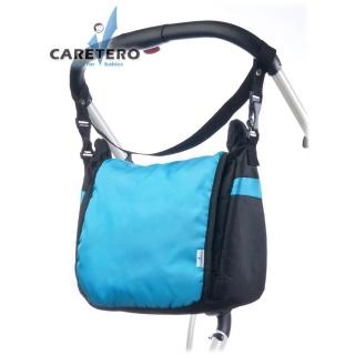 Taška na kočárek CARETERO - turquoise Tyrkysová
