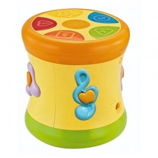 Edukační hrající bubínek BAYO Žlutá