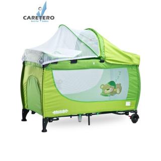 Cestovní postýlka CARETERO Grande green 2016 Zelená