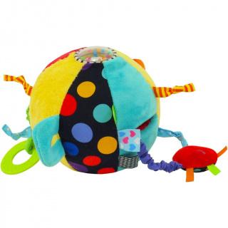 Edukační plyšová hračka Baby Mix Balón Růžová