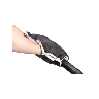 Rukávník na kočárek z Minky Sensillo 40x45 black Černá