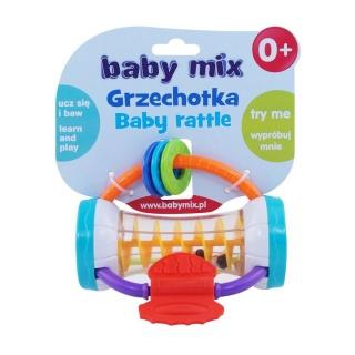Dětské chrastítko Baby Mix barevný válec Dle obrázku