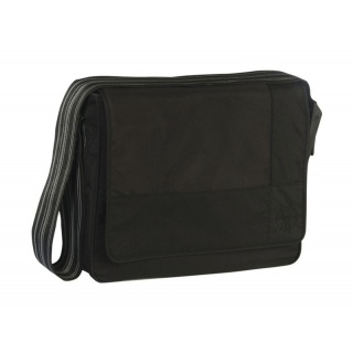 Lässig taška na rukojeť Casual Messenger Bag Patchwork black
