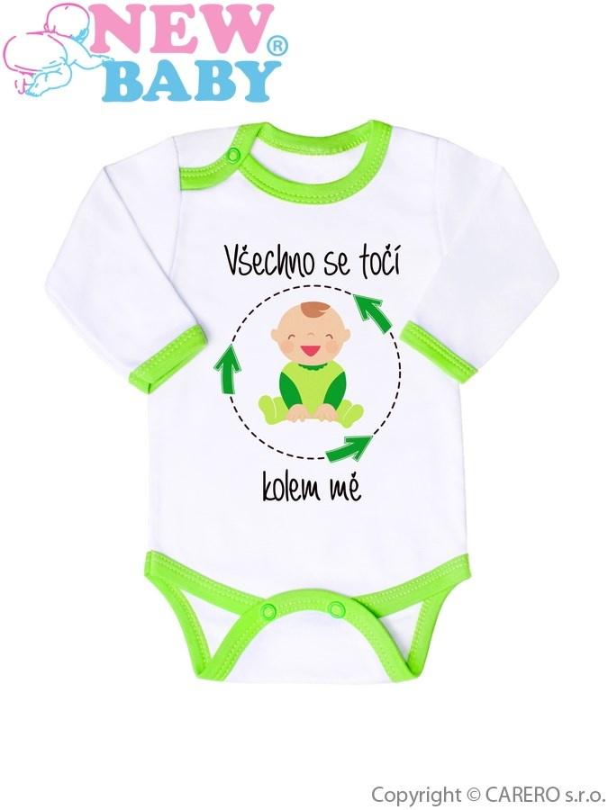 Body s potiskem New Baby 50% MAMINKA + 50% TATÍNEK - 100% JÁ zelené Zelená  74 (6-9m) - Bejbyboom - svět dětí a maminek 478f03c4bf