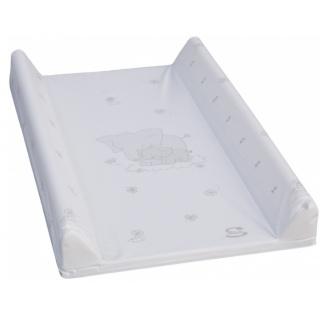 Přebalovací podložka s pevnou vložkou 80 x 50 cm - bílá