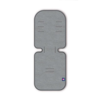 PETITE&MARS Vložka do kočárku 3D Aero sv.šedá