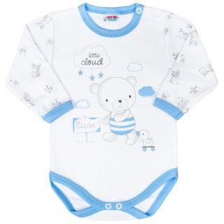Kojenecké body New Baby Bears modré Modrá 50