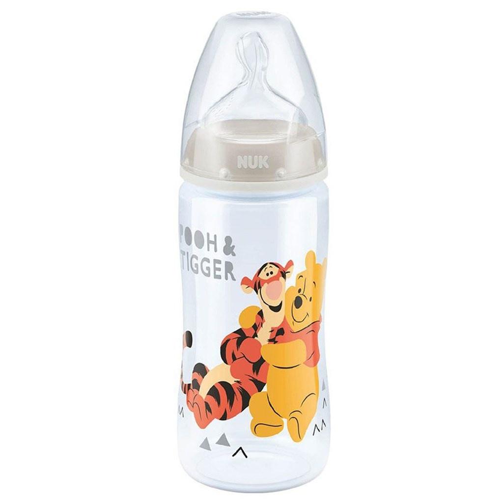 Kojenecká láhev NUK Medvídek Pú 300 ml béžová Béžová