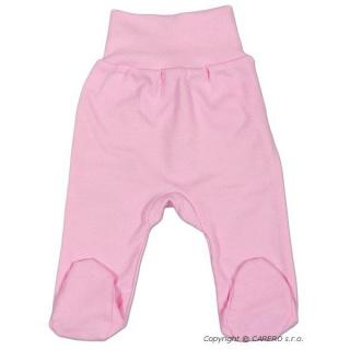 Kojenecké polodupačky New Baby růžové Růžová 68 (4-6m)
