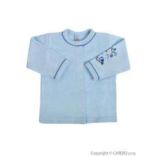 Kojenecký kabátek Bobas Fashion Benjamin modrý Modrá 56 (0-3m)