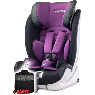 Autosedačka CARETERO Volante Fix purple 2016 Fialová