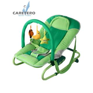 Dětské lehátko CARETERO Astral green Zelená