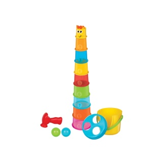 Maxi stohovací kelímky Žirafa