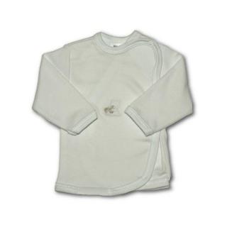 Kojenecká košilka s vyšívaným obrázkem New Baby bílá Bílá 68 (4-6m)