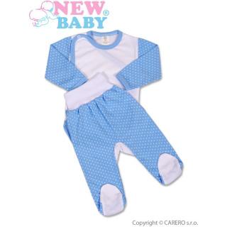 2-dílná souprava New Baby Puntík modrá Modrá 62 (3-6m)