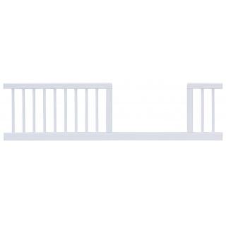 Válendová bočnice Dominik bílá k postýlce 140 cm