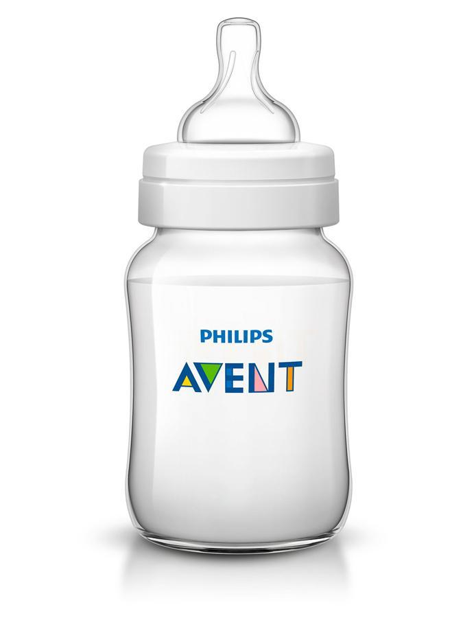 Kojenecká láhev Avent Classic+ 260 ml Transparentní