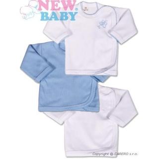 Kojenecká košilka New Baby Classic 3ks Modrá 68 (4-6m)