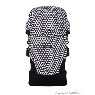 Nosítko Womar Zaffiro Care černo-bílé Černá